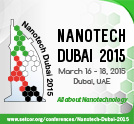 2nd Edition Nanotech Dubai 2015 Conference and Exhibition