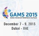 Global Advanced Materials & Surfaces 2015 International Conference & Exhibition