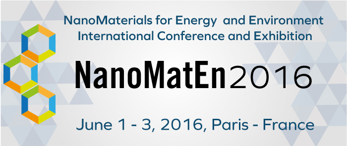 International conference on Nano Materials for Energy & Environment - NanoMatEn 2016