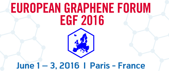 European Graphene Forum 2016, New Materials for the 21st Century