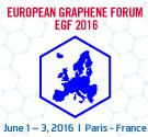 European Graphene Forum 2016, New Materials for the 21st Century