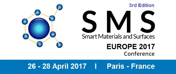 3rd Edition Smart Materials & Surfaces Conference, SMS EUROPE 2017