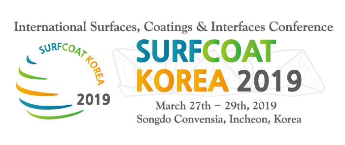 The International Conference on Surfaces, Coatings and Interfaces - SurfCoat Korea 2019