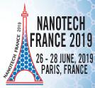 Nanotech France 2019 Conference and Exhibition - Paris, France, 26 - 28 June, 2019