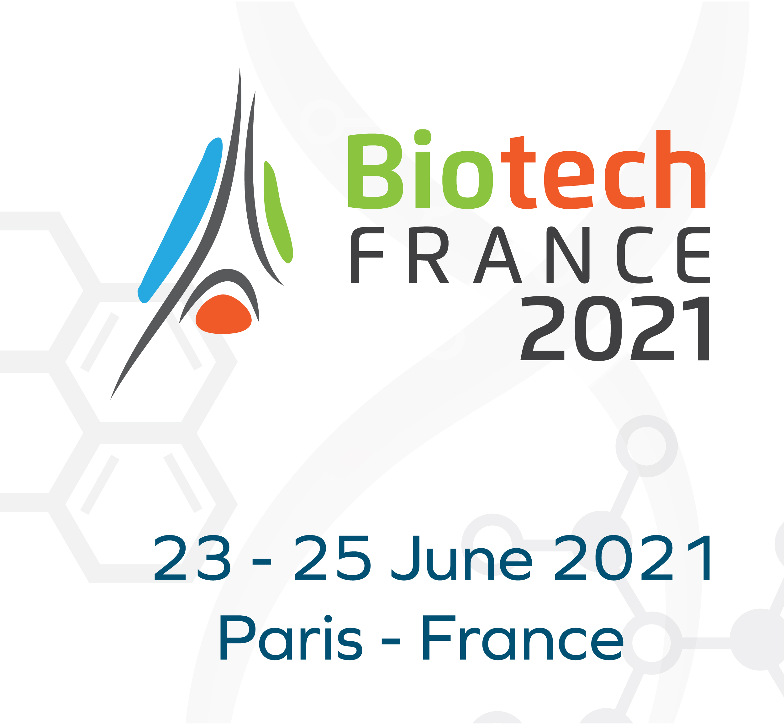 Biotech France 2021 international conference and exhibition, 23 - 25 June 2021, Paris, France