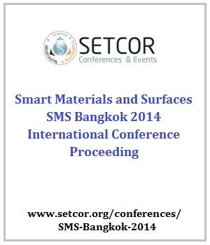 Smart Materials and Surfaces Conference - Bangkok, Thailand.