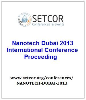 Nanotech Dubai 2013 Conference - Dubai, UAE