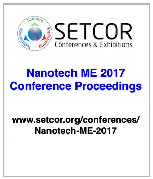 Nanotech Middle East 2017 Conference and Exhibition, 4 to 6 December, 2017 - Dubai, UAE